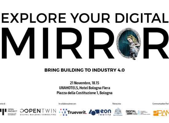 "SAVE THE DATE: ""Explore your Digital Mirror – Bring Building to Industry 4.0"""
