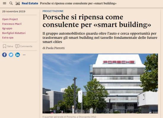 La sfida di Open Project, tra smart buildings e smart cities
